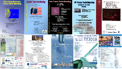 10th anniversary of TT meetings, from 1st (TT1999) to 10th (TT2011)