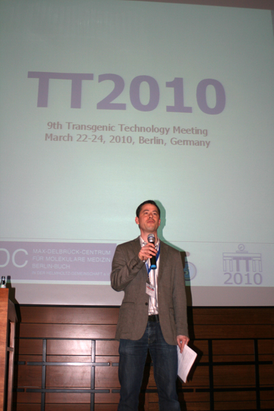 Boris Jerchow, Chair of the TT2010 Meeting