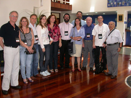 Organizers and invited teachers at the Cryopreservation Course-CEMIB-UNICAMP, Nov. 22-25, 2010