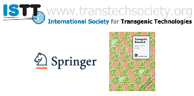 The International Society for Transgenic Technologies (ISTT) is associated with the scientific journal Transgenic Research, published by Springer