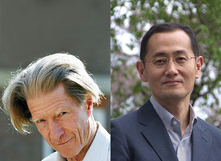 John B. Gurdon (left) and Shinya Yamanaka (right) awarded the 2012 Nobel Prize in Physiology or Medicine