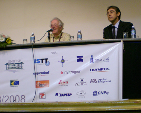 Prof. Oliver Smithies and Prof. Joao Bosco Pesquero