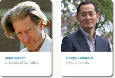 2009 Lasker Basic Medical Research Awards to John Gurdon and Shinya Yamanaka